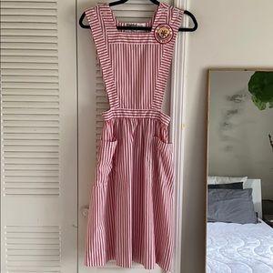 🏥🌡 Vintage 1960s/70s Candy Striper Uniform